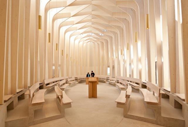 CSJB Cuddesdon chapel interior looking west