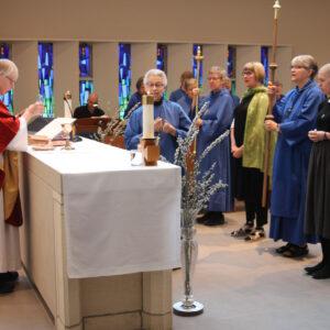 Sisterhood of St John the Divine Palm Sunday