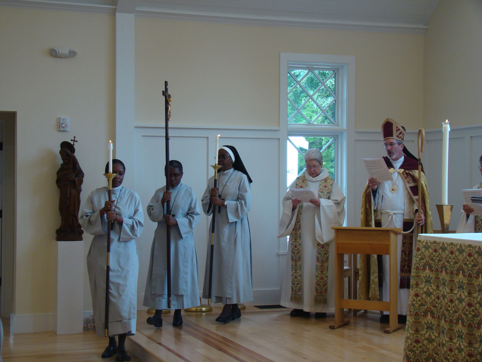 SSM Duxbury Chapel Dedication